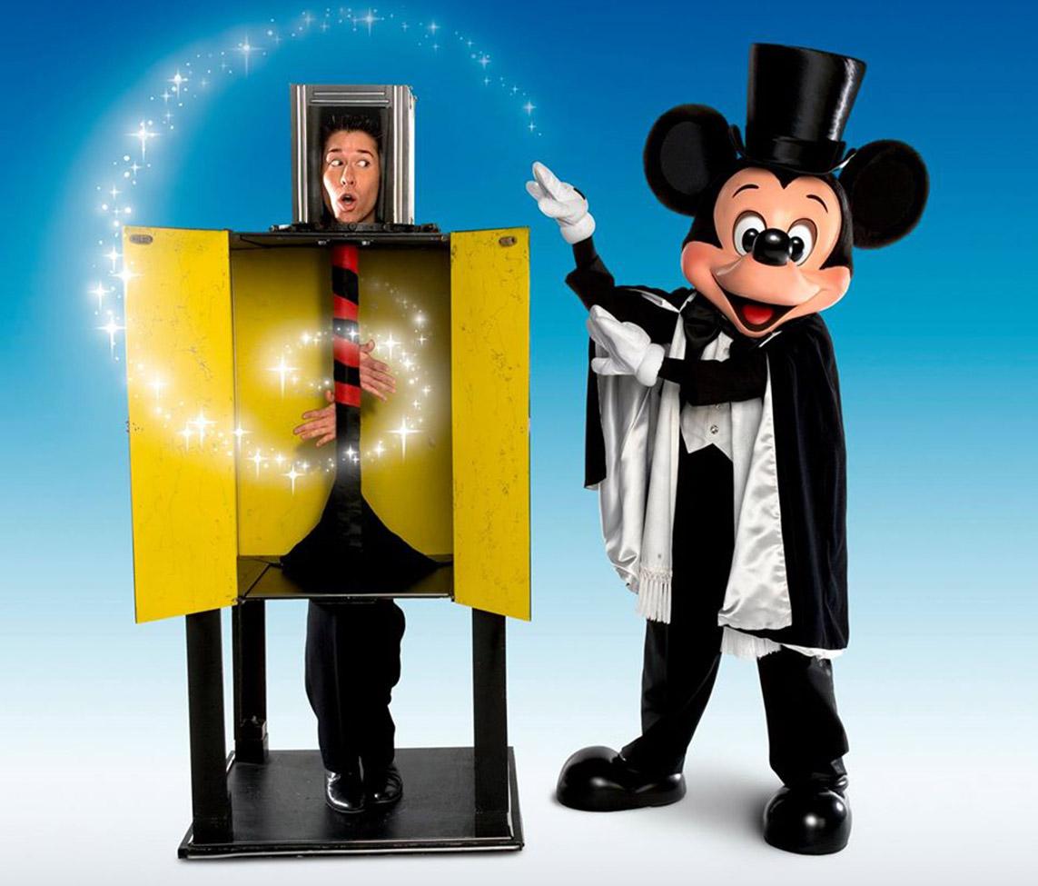 Brad Ross Mickey's Magic Show Fun Facts
